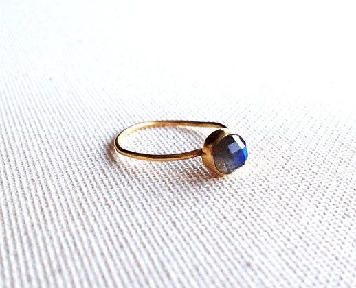 Stackable Labradorite Ring