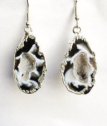 Druzy Geode Earrings