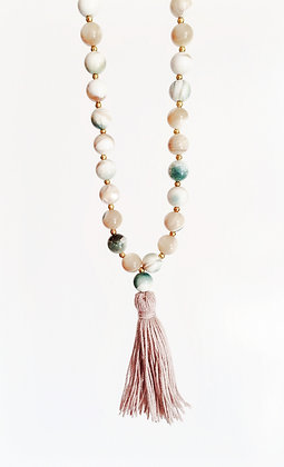 Conch Shell Tassel Necklace