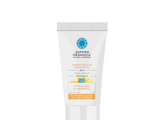 Crème solaire Bio FPS 50 pour visage 50 ML