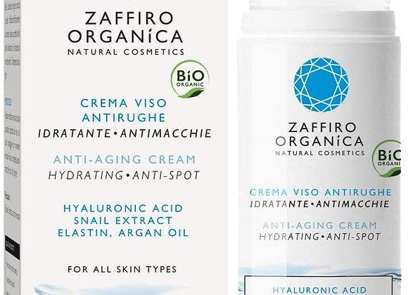 Crème Visage Antirides BIO à la bave d'escargot et à l'acide