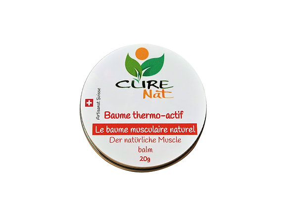 Baume naturel thermo actif musculaire
