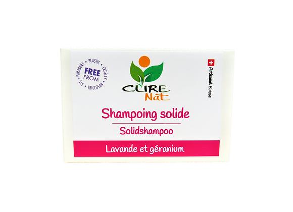 Shampoing solide Lavande et Géranium