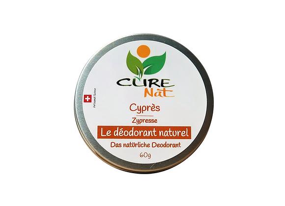 Déodorant naturel Cyprès