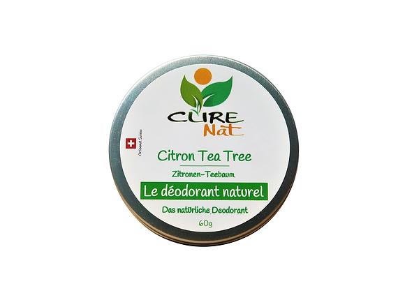 Déodorant naturel Tea Tree et Citron