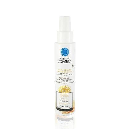 Spray solaire Bio FPS 30 pour visage et coprs. 100 ML