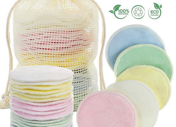 Lingettes lavables en Bambou