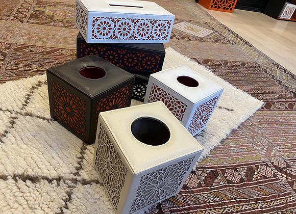 Couvre boîte à Kleenex carré