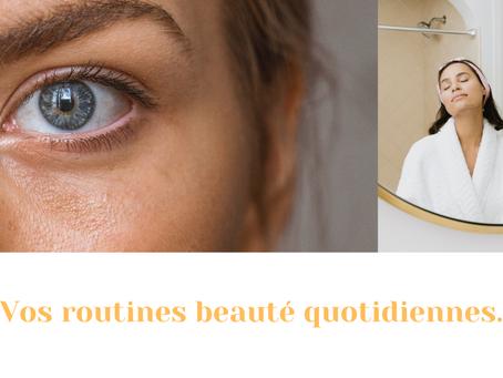 Les clés d'une routine beauté et soins réussie, matin et soir