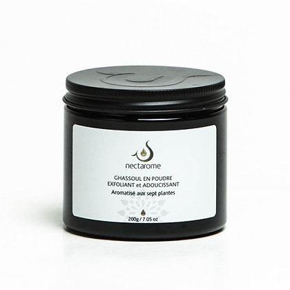 Ghassoul aromatisé aux 7 plantes - 200 g