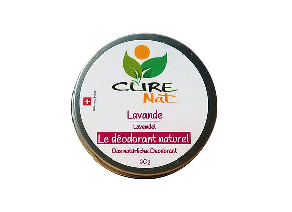 Déodorant naturel à la Lavande