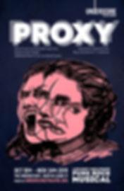 proxy - poster 18x12 - w06 print (red).j