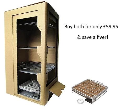 Pro Q Cold Smoke Cabinet & Cold Smoke Generator