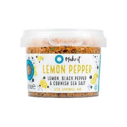 Cornish Sea Salt - Lemon Pepper
