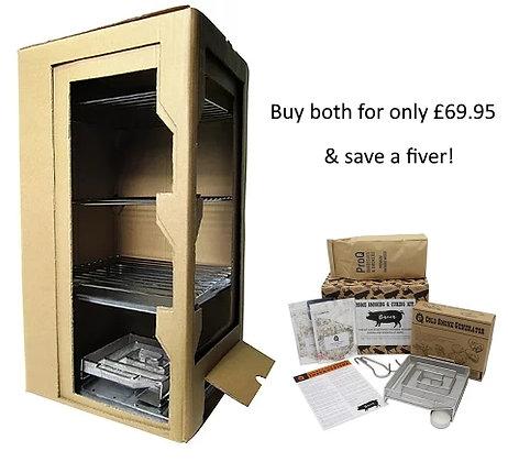 Pro Q Cold Smoke Cabinet & Bacon Kit