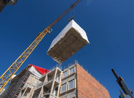 Esivalmistetut betonielementtiratkaisut rakennushankkeen tuottavuutta kasvattamassa