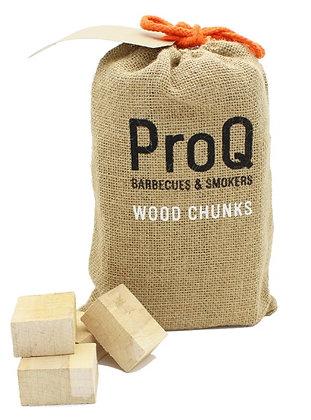 Pro Q Wood Chunks - 1kg