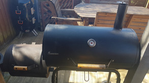 Using An Offset Smoker in The UK