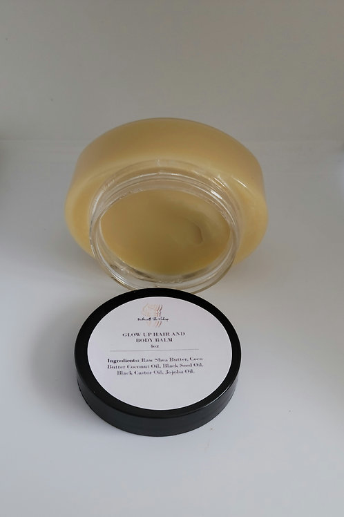 Glow up Hair and Body Balm