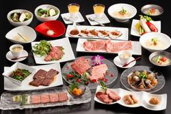 中洲高級焼肉店のフルコース写真 | 福岡の写真事務所
