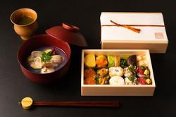 福岡市赤坂の日本料理屋の弁当撮影