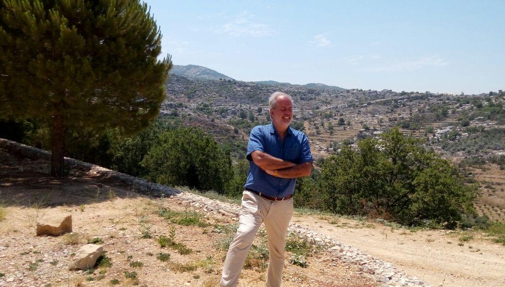 Lebanon Hils -Syrian  Border