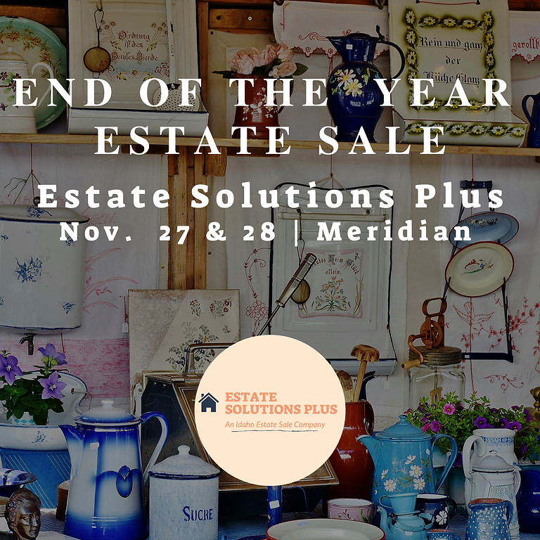 End Of The Year Estate Sale