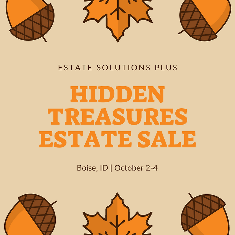 Hidden Treasures Estate Sale