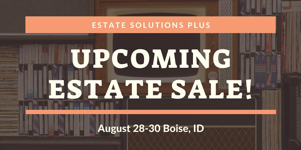 Boise Summer Estate Sale