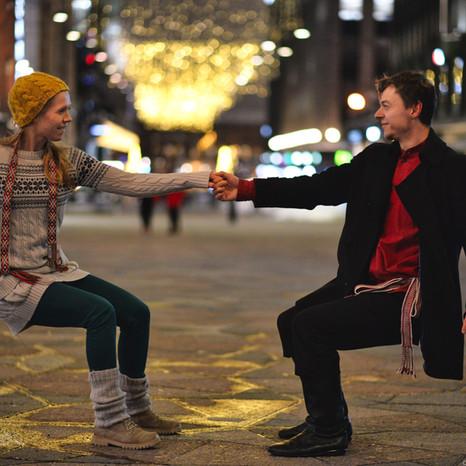 Arjen romantiikkaa ja tanssia!