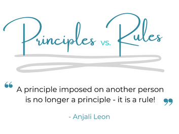 Principles vs Rules