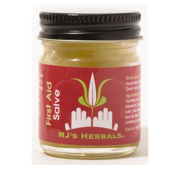 MJ'S HERBALS FIRST AID SALVE