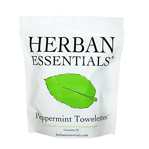 PEPPERMINT ESSENTIAL OIL TOWELETTES