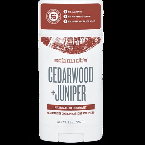 SCHMIDT'S CEDARWOOD + JUNIPER