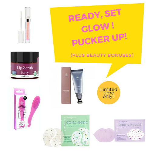 GET YOUR GLOW ON JUNE- LIP-LICIOUS
