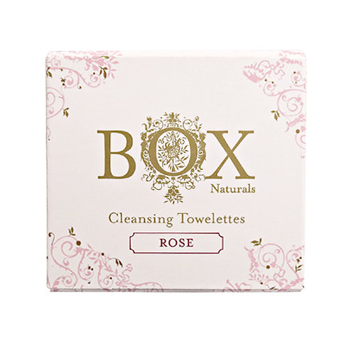 ROSE CLEANSING TOWELETTES