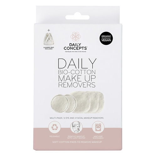 DAILY COTTON BIO MAKEUP REMOVERS