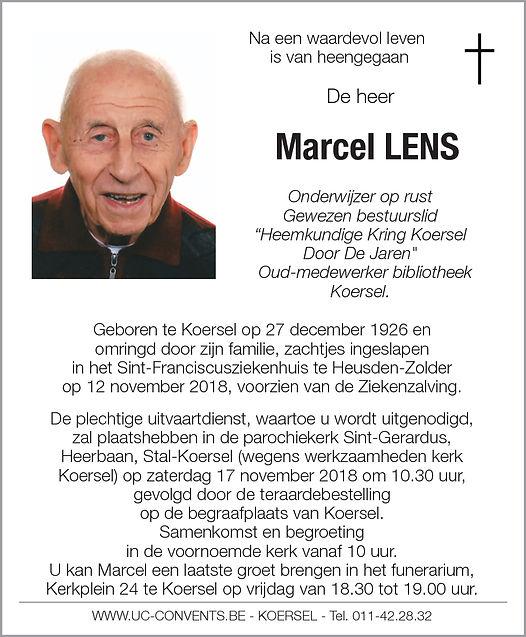Lens Marcel olb