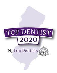 New Jersey Dentist Badge 2020