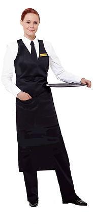 Alseasons Waitress in Black & Whites