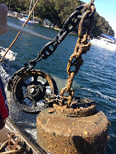 Pittwater mooring servicing