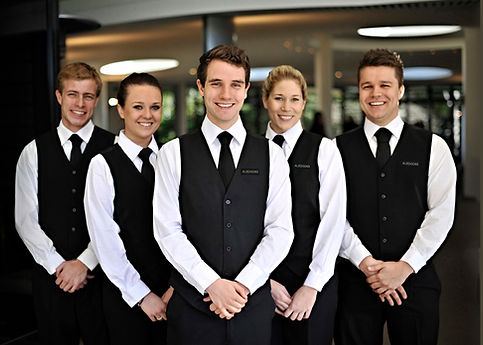 Alseasons waitstaff line-up