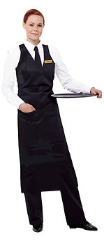 Black & white Waitress uniform