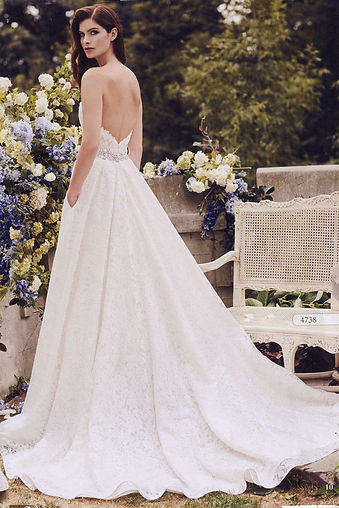 Hudson Valley Garden Wedding Dresses by Paloma Blanca