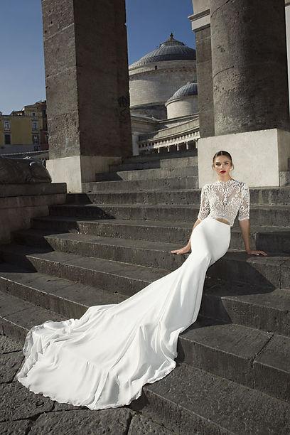 Julie Vino wedding dress designer