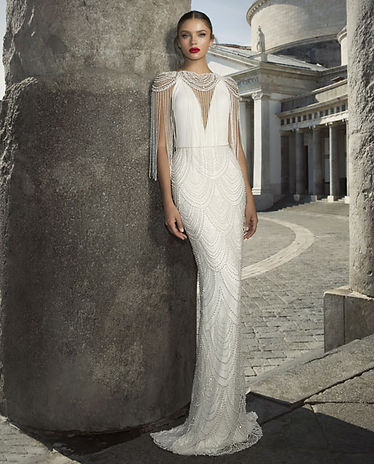 Julie Vino Bridal Gown