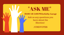 Copy of #UMDVOTES PARTY