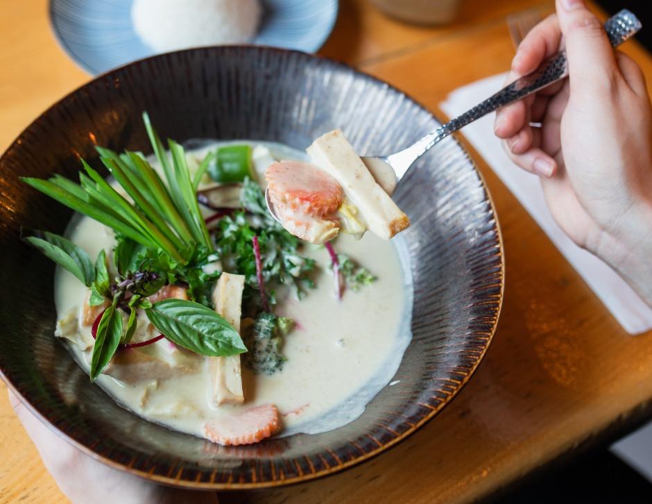 Vegan Thai Green Curry from IMM Thai Kitchen