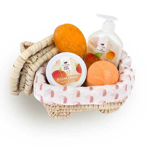 The Peaches & Cream Treat Set