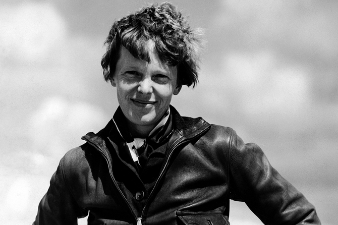 Playing Amelia Earhart